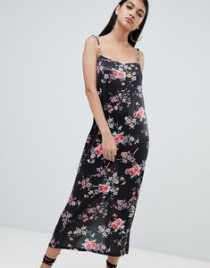 Read more about Asos design floral printed maxi slip dress - floral print