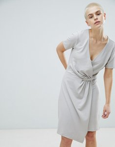 Read more about Selected twist dress - dove