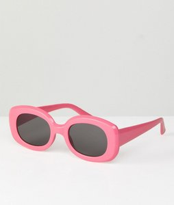 Read more about Asos square 90s sunglasses - pink