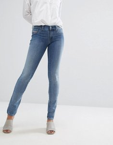 Read more about Diesel livier low rise jegging - light wash blue