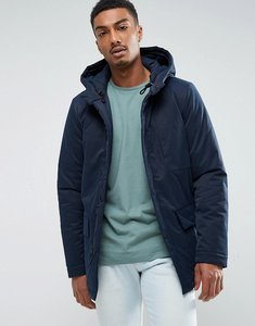 Read more about Selected homme padded parka with hood - dark navy