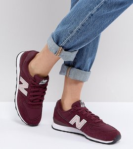 Read more about New balance 996 trainers in metallic burgundy - metallic burgundy