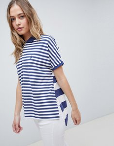Read more about Polo ralph lauren poncho polo shirt - white navy