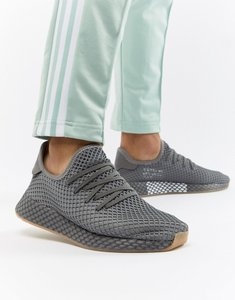 Read more about Adidas originals deerupt runner trainers in grey cq2627 - grey