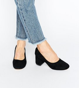 Read more about Asos simone heels - black