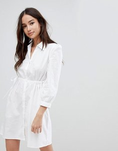 Read more about Glamorous shirt dress - white