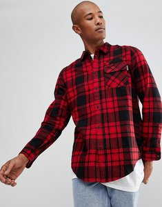 Read more about Brooklyns own check shirt in red flannel - red
