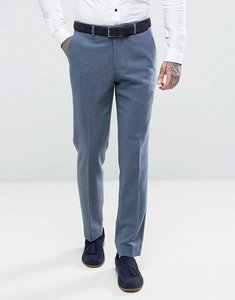 Read more about Harry brown slim fit donegal nep suit trousers - blue