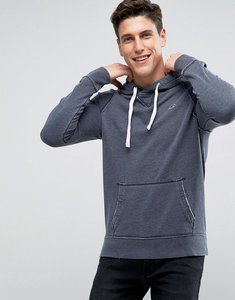 Read more about Hollister icon logo overhead hoodie regular fit in navy - navy