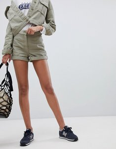Read more about Weekday utility short in khaki - khaki