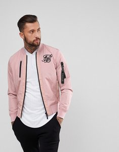 Read more about Siksilk bomber jacket in pink - pink