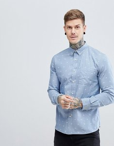 Read more about Hymn paper plane chambray shirt - blue