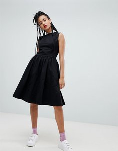 Read more about Love moschino sequin collar a-line midi dress - c74