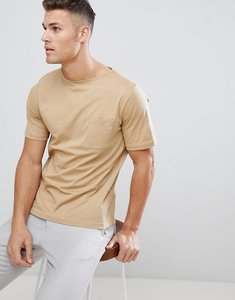 Read more about For t-shirt with pocket detail in stone - stone