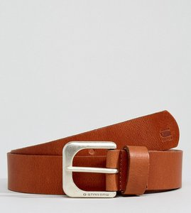 Read more about G-star leather belt in tan - tan