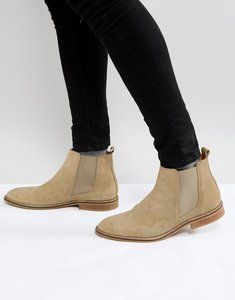 Read more about Good for nothing chelsea boots in tan suede - tan