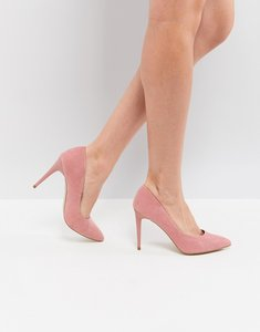 Read more about New look pointed court shoe - pink