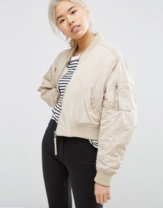 Read more about Weekday bomber jacket - beige