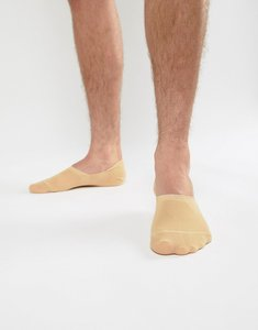 Read more about Asos design invisible liner socks in fair skintone - beige