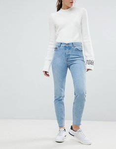 Read more about Tommy jeans izzy high waist mom jean - light blue