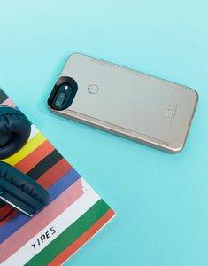 Read more about Lumee duo rose matte iphone 6 7 8 plus selfie case - multi