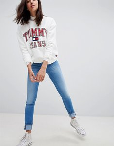 Read more about Tommy jeans sophie low rise skinny jeans - santa cruz blue