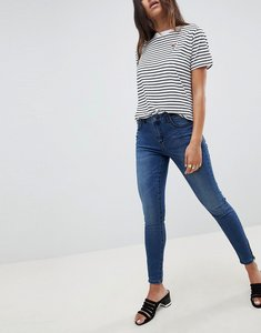 Read more about Vila skinny jeans - medium blue denim