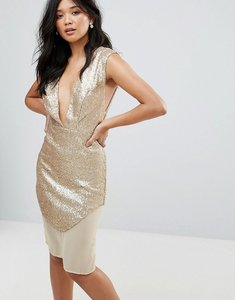 Read more about Glamorous metallic dress - gold