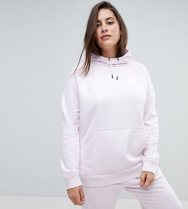Read more about Nike plus rally pullover hoodie in pearl pink - pink