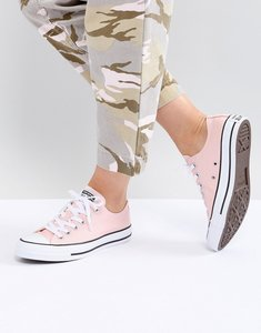 Read more about Converse chuck taylor all star low trainers in pink - storm pink
