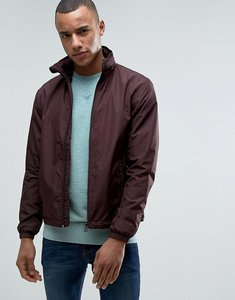 Read more about Esprit lightweight jacket with concealed hood - bordeaux