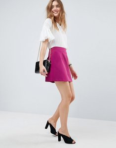 Read more about Asos tailored a-line mini skirt - pink
