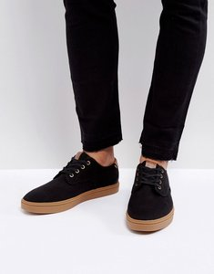 Read more about Aldo choecien lace up plimsolls in black - black