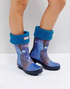 Read more about Hunter original blue short boot socks - bl1 - blue 1