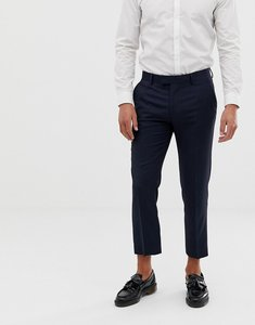 Read more about Farah skinny cropped flannel trousers - navy
