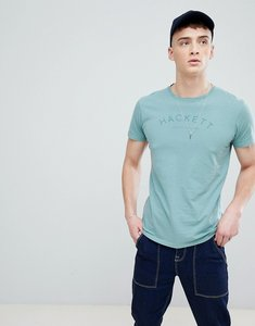 Read more about Hackett mr classic logo t-shirt in green - 668