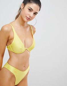 Read more about Missguided bikini brief - yellow