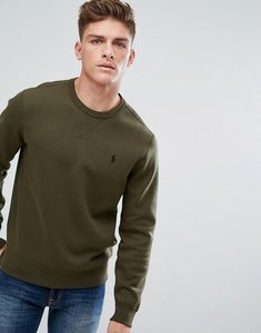 Read more about Polo ralph lauren crew neck sweatshirt in olive green - company olive