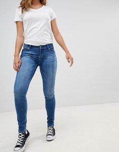 Read more about Tommy hilfiger denim mid rise skinny jeans - bay blue stretch