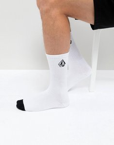 Read more about Volcom socks with stone logo in grey - grey