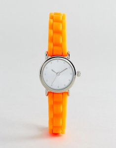 Read more about New look mini neon silicone watch - neon orange