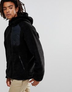 Read more about Nike sb everett hooded borg jacket in black 862745-010 - black