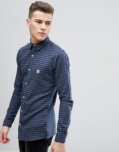 Read more about Le breve check shirt - blue