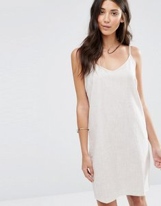Read more about Vila maier sleeveless cami dress - soft camel