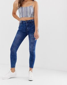 Read more about Pull bear high waist skinny jean - med blue