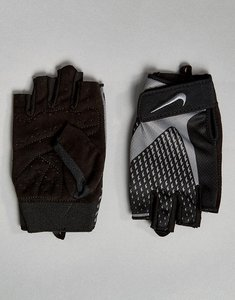 Read more about Nike training core lock gloves in grey lg 38-032 - grey