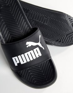 Read more about Puma popcat sliders in black 36026510 - black