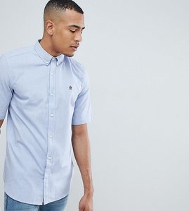 Read more about French connection tall oxford short sleeve shirt - sky