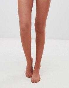Read more about Asos design 15 denier nude tights in chestnut - brown