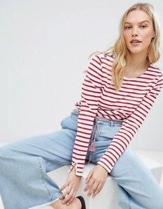 Read more about Maison scotch breton stripe long sleeved t-shirt - 17 combo a